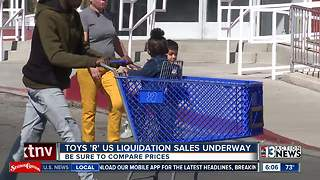 Customers aren't impressed by Toys 'R' Us liquidation sale