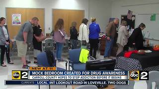 Carroll Co. Schools use interactive event to teach parents about teen drug use - Video