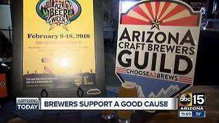 Brewers support good cause during Arizona Beer Week - Video