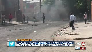 Civil unrest in Haiti has Naples-based nonprofit group sheltering in place - Video