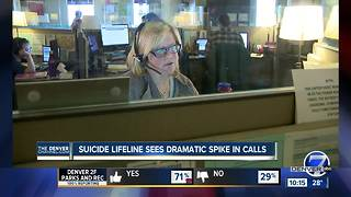 Suicide Prevention Hotline sees 40% spike in calls tied to song - Video