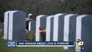san diegans prove love is forever - Video