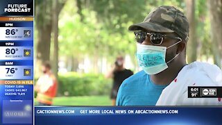 Black Lives Matter protest in Pasco County