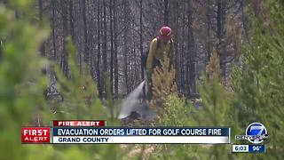 Colorado wildfires: Crews struggle to control fast-moving Spring Fire - Video
