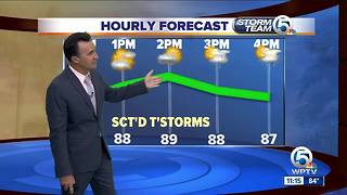 South Florida Friday afternoon forecast (7/6/18) - Video