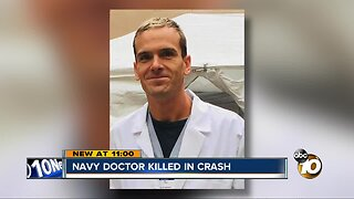 Family remembers Navy doctor run over on India Street