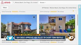 San Diego approves new rules on short-term rentals - Video