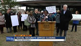Decision to close south Side Social security office draws criticism - Video