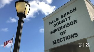 People voting at the Palm Beach County Supervisor of Elections office