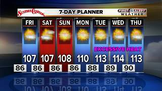 13 First Alert Las Vegas Weather Forecast for July 20 - Video