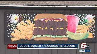 Boogie Burger closes in Broad Ripple after 10 years - Video