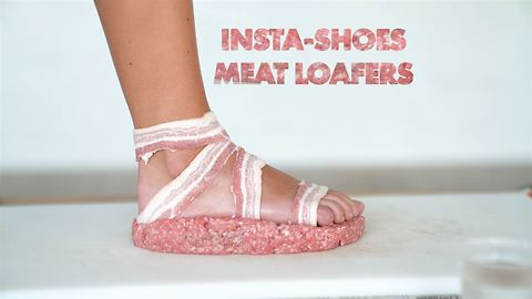 Behind the INSTA-shoe photographer: diy meat loafers