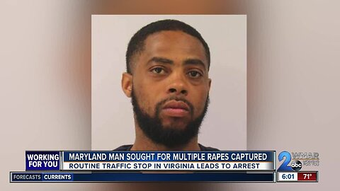 Maryland man wanted for multiple rapes captured