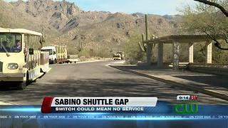 Gap in service possible for Sabino Canyon shuttle - Video