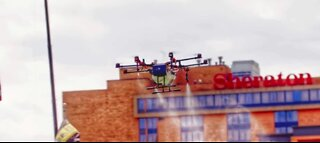Company says drone can sanitize stadiums