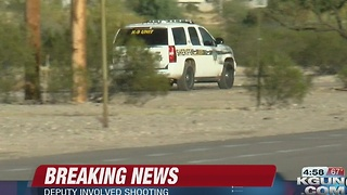 Deputy-involved shooting reported near I-10 and Ruthrauff - Video