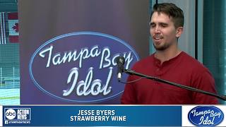 Tampa Bay Idol Audition: Jesse Byers - Video