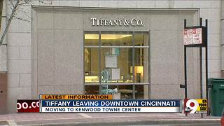 Tiffany & Co. leaving downtown Cincinnati - Video