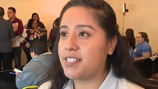 Student activists at UNLV call for action on DACA - Video