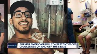 Former American Idol contestant faces challenges on and off the stage - Video