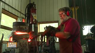 Small Towns: The art of blacksmithing in Door County - Video