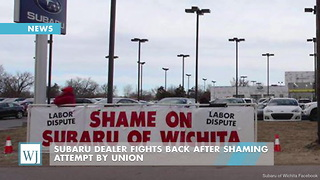 Subaru Dealer Fights Back After Shaming Attempt By Union - Video