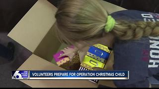 Operation Christmas Child underway in Boise - Video