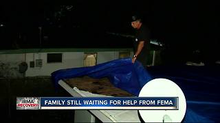 Family still waiting on help from FEMA following Hurricane Irma - Video