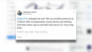 Woman charged 13x for health insurance for November