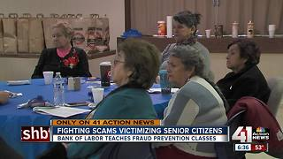 'Senior Crimestoppers' to crack down on scams - Video