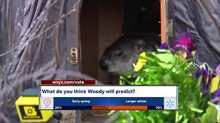 What will Woody predict this Groundhog Day? - Video