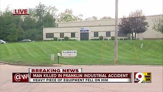 Man killed in Franklin industrial accident - Video