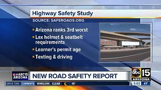 Arizona ranks among the bottom on highway safety report - Video