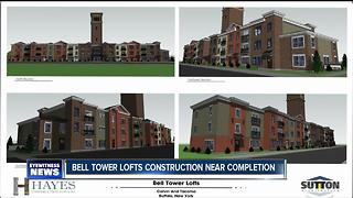 Bell Tower Lofts construction nears the finish line - Video