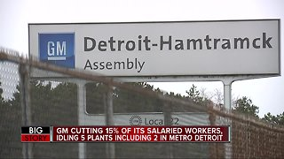 General Motors closing two plants in metro Detroit; thousands of jobs to be cut