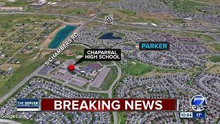 Sheriff's office says no concern after anonymous shooting threat to Chaparral High School - Video