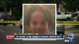 Denver police search for missing 7-year-old boy - Video