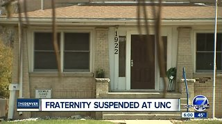 University of Northern Colorado suspends fraternity after finding violations