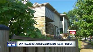 A booming real estate market means tough buying buying conditions for WNY'ers