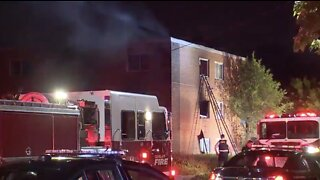 7 people rescued from apartment fire on East 143rd Street in Cleveland