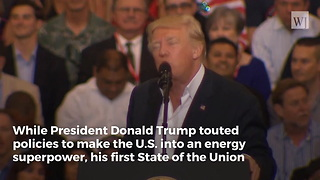 Trump Gave First SOTU Address in 8 Years That Didn't Mention Climate Change - Video