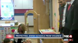 More funding for Jewish school security