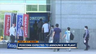 Foxconn expected to announce it will come to Racine County