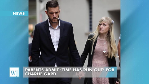 Parents Admit 'Time Has Run Out' For Charlie Gard