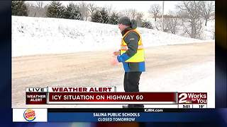 Crews working to clear Eastern Oklahoma roads (part 1) - Video