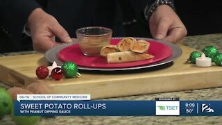 Shape Your Future Kitchen: Sweet Potato Rollups with Spicy Peanut Sauce
