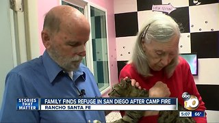 Pets from Camp Fire find refuge at Helen Woodward Animal Center