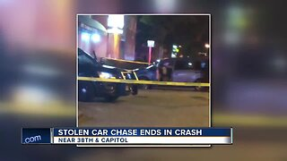 Suspect in custody after injuring innocent people in crash