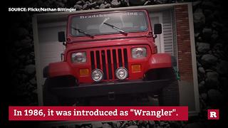 Wrangler over the years | Rare News
