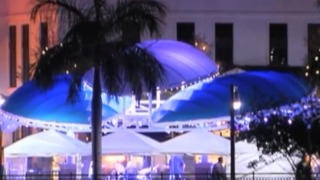 You won't hear loud music at Harbourside - Video